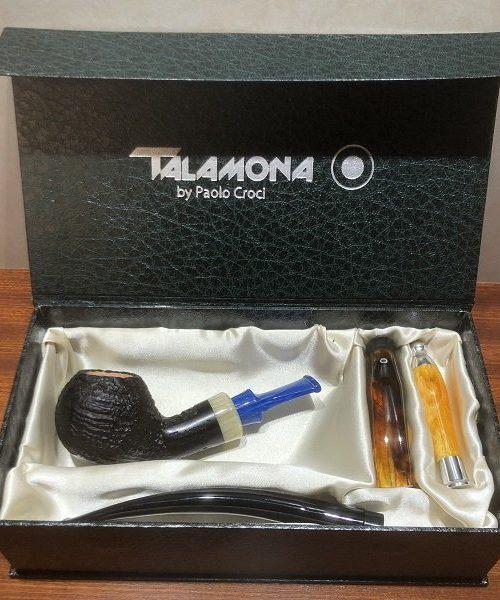 Pipa Talamona Mini reverse sabbiata black