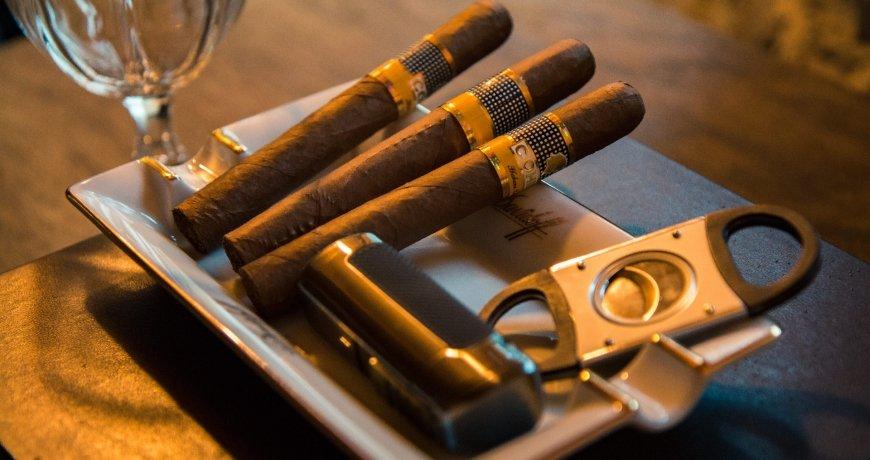 Light cigar